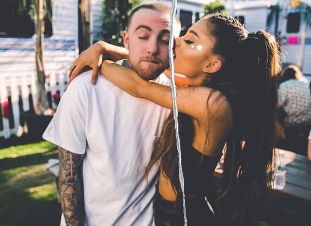 Ariana Grande e Mac Miller (Foto: Reprodução/Instagram)
