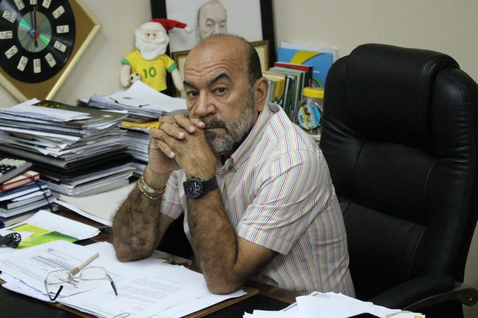 Presidente da FFP rebate críticas do Parnahyba e garante amparo legal para remarcar finais da Copa Piauí (Foto: Wenner Tito )