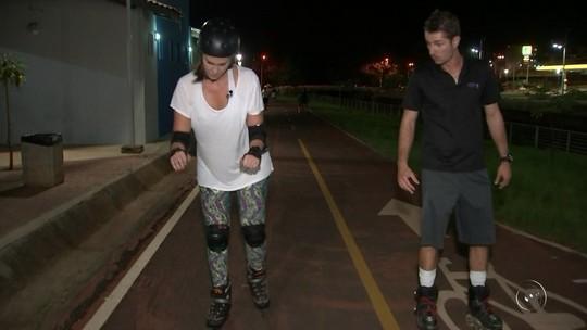 Andar de patins é opção para perder peso