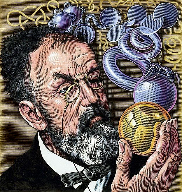 Henri Poincaré (1854-1912) levou o problema adiante, mas não conseguiu resolvê-lo para superfícies em 3D (Foto: SCIENCE PHOTO LIBRARY)