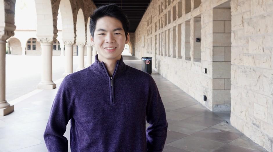 Lawrence Lin Murata, de 23 anos: empreendedor serial nos EUA (Foto: Divulgação)
