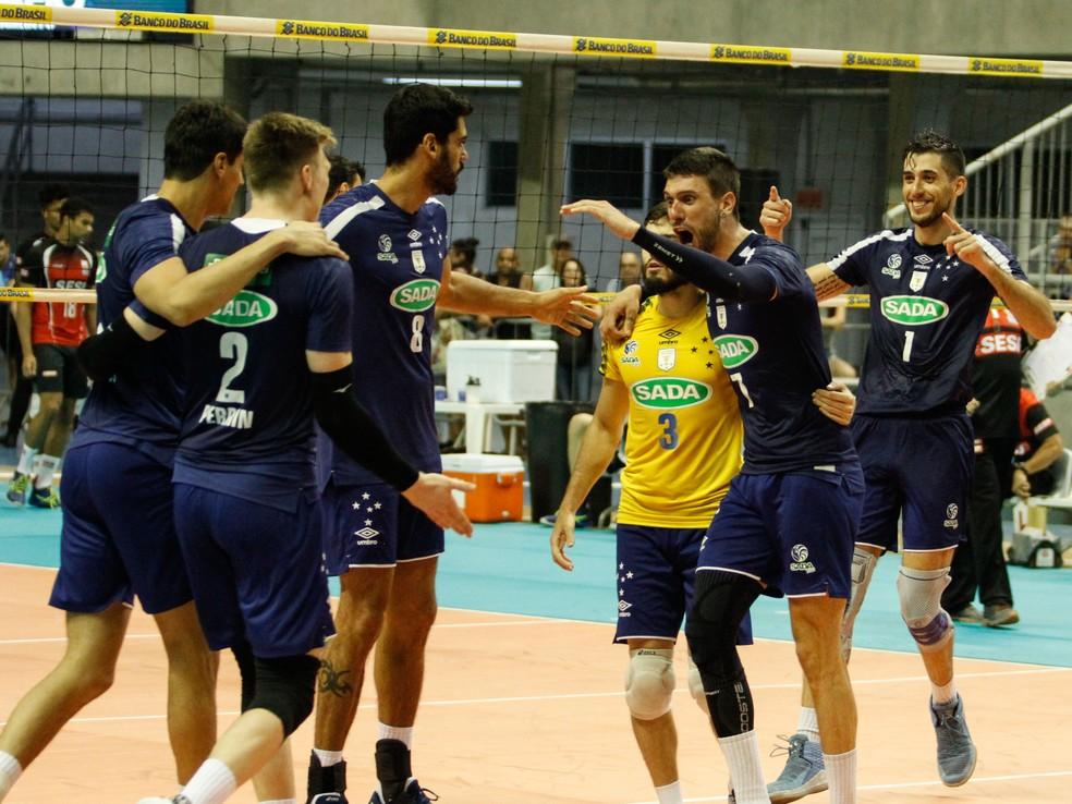 Cruzeiro é campeão da Copa Brasil de vôlei — Foto: Divulgação/Cruzeiro