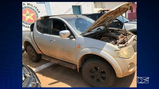 Caminhonete roubada é recuperada no Maranhão