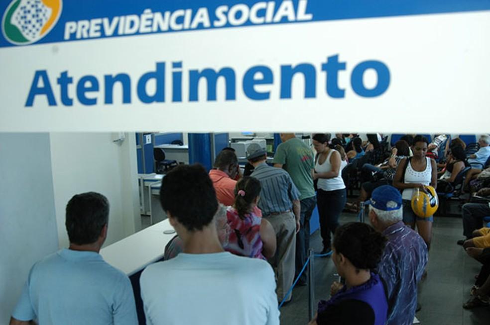 Previdência Social vai pagar R$ 864 milhões no RN até 7 de dezembro — Foto: Sindprevs-RN