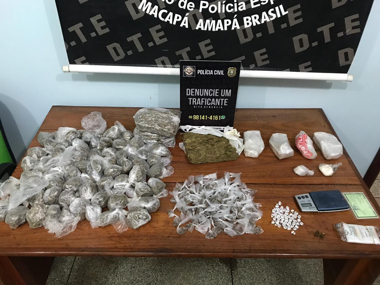 Casal joga cerca de 5 quilos de crack, cocaína e skank em área de lago na Zona Norte de Macapá - Notícias - Plantão Diário
