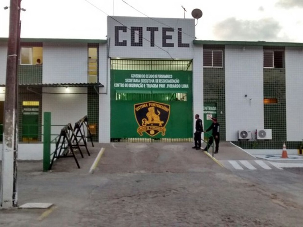 Centro de Observação Criminológica e Triagem Professor Everardo Luna (Cotel) (Foto: Antônio Coelho/TV Globo)