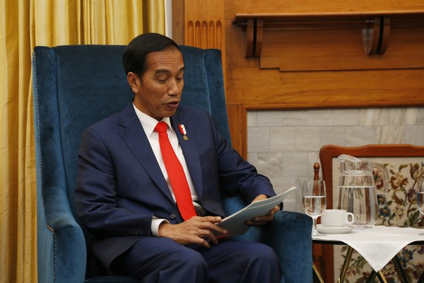 O presidente da Indonésia Joko Jokowi Widodo (Foto: Getty Images)