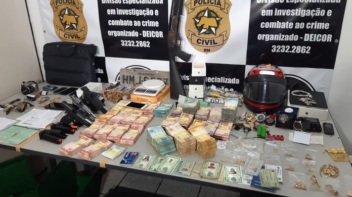 Polícia Civil prende 5 suspeitos de tráfico de drogas, organização criminosa  e lavagem de dinheiro na Grande Natal | Rio Grande do Norte | G1
