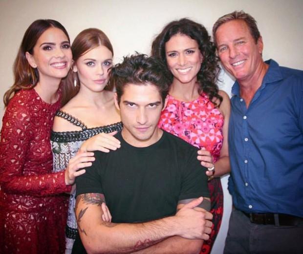 Parte do elenco de Teen Wolf (Foto: Reprodução/Instagram)