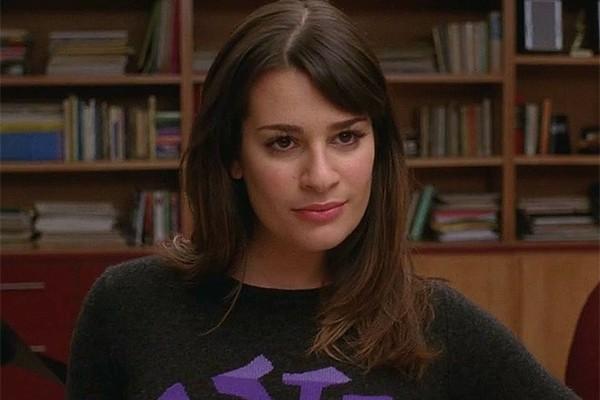 Lea Michele como Rachel Berry em 'Glee' (Foto: Divulgação)