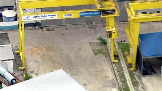 Governador do RJ vai aterrar obras de estação do metrô
