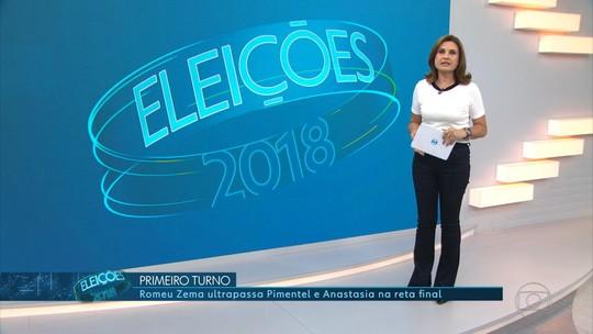 Zema e Anastasia no 2º turno em MG: veja estatísticas da votação no estado