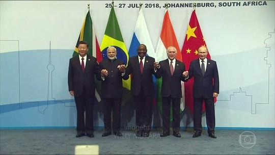 Declaração conjunta dos BRICS defende a globalização e a atuação da OMC
