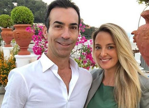 César Tralli e Ticiane Pinheiro na Itália (Foto: Reprodução/Instagram)