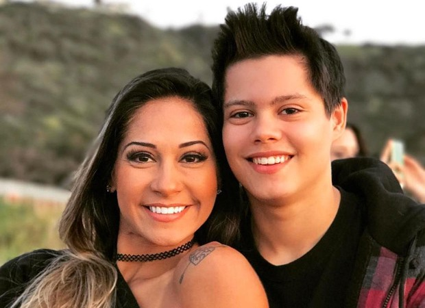Mayra Cardi e Lucas (Foto: Reprodução Instagram)