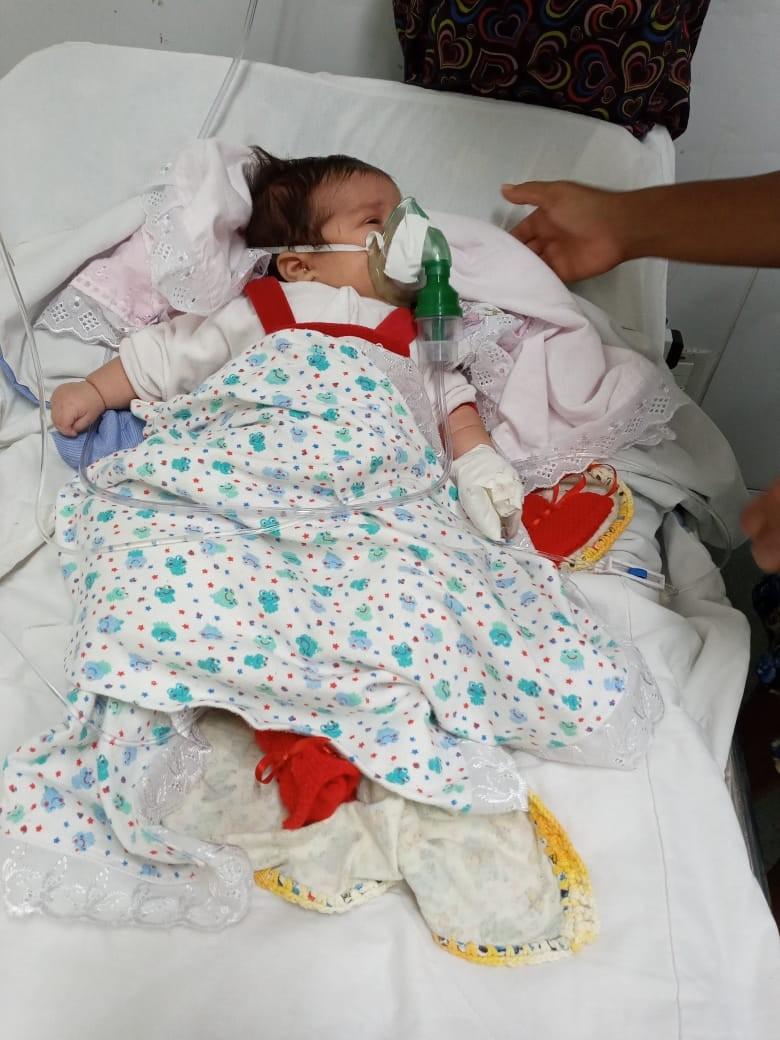 Recém-nascida precisa de vaga em hospital e família relata angústia à espera de transferência