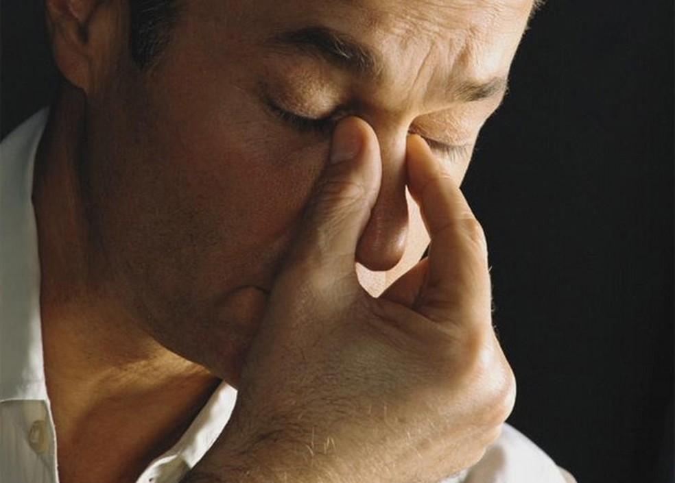 Desânimo e mau humor são suficientes para afetar a qualidade de vida — Foto: BBC