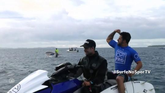 Italo elimina Medina em bateria dura em Fiji; Ian Gouveia avança e segue na briga
