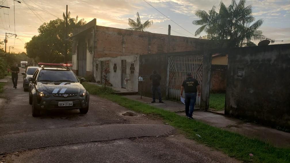 Polícia deflagra operação Matapi em 70 cidades do Pará. — Foto: Divulgação/ Polícia Civil