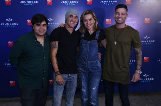 A Família Lima, do Big Brother Brasil 18 (Foto: AgNews/Anderson Borde)