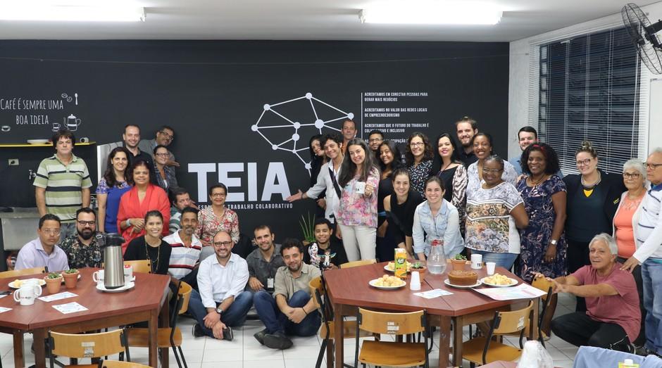 Encontro de empreendedores, realizado no dia 11 de abril, para discutir a criação da Teia. (Foto: Prefeitura de São Paulo)