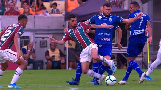 Central do Apito: Sandro Meira Ricci vê pênaltis não marcados para o Fluminense contra o CSA