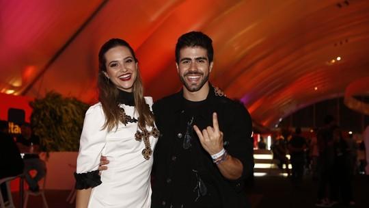 Juntos, Juliana Paiva e Juliano Laham brincam sobre nomes parecidos: 'Quase uma dupla sertaneja'