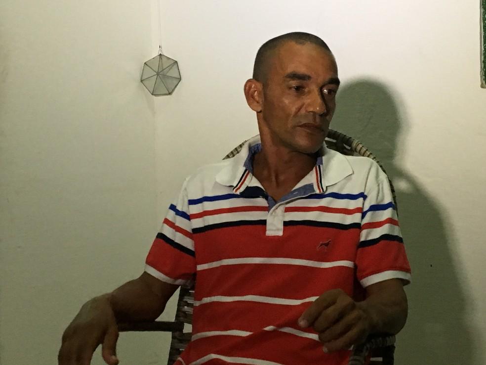 Flávio Júlio do Nascimento foi preso por engano em Natal — Foto: Leonardo Erys/G1