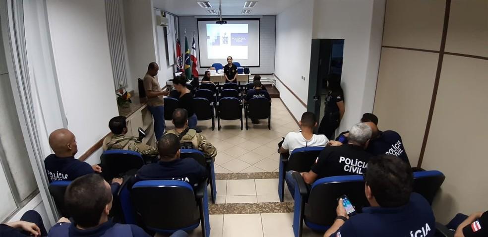 Quarta fase da Operação Luz na Infância é realizada na Bahia — Foto: Divulgação/SSP-BA