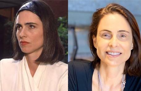 Silvia Pfeifer interpretou Isadora, uma mulher dissimulada e ambiciosa. O trabalho mais recente da atriz foi na novela 'Topíssima' (2019), da Record TV Globo - Reprodução/Instagram