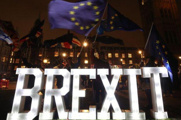 Brexit é o foco de 10 entre 10 líderes europeus no momento (Foto: YUI MOK/PA/BBC)