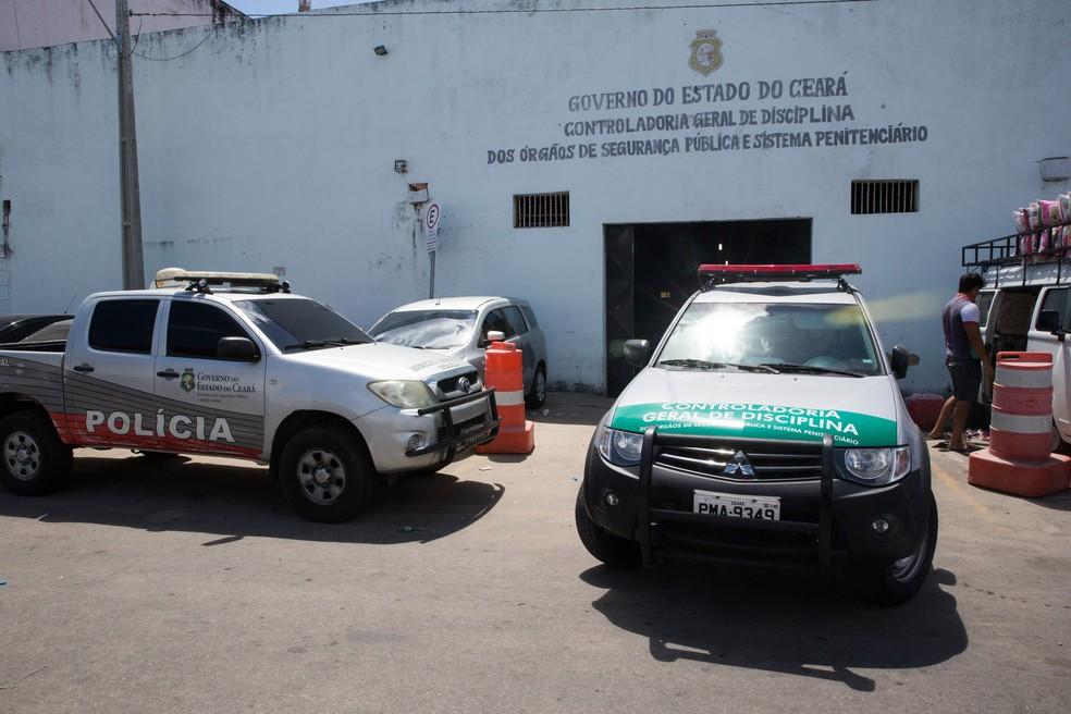 Justiça nega soltura de policiais acusados de cobrar propina para liberar traficantes no Ceará — Foto: Cid Barbosa/G1