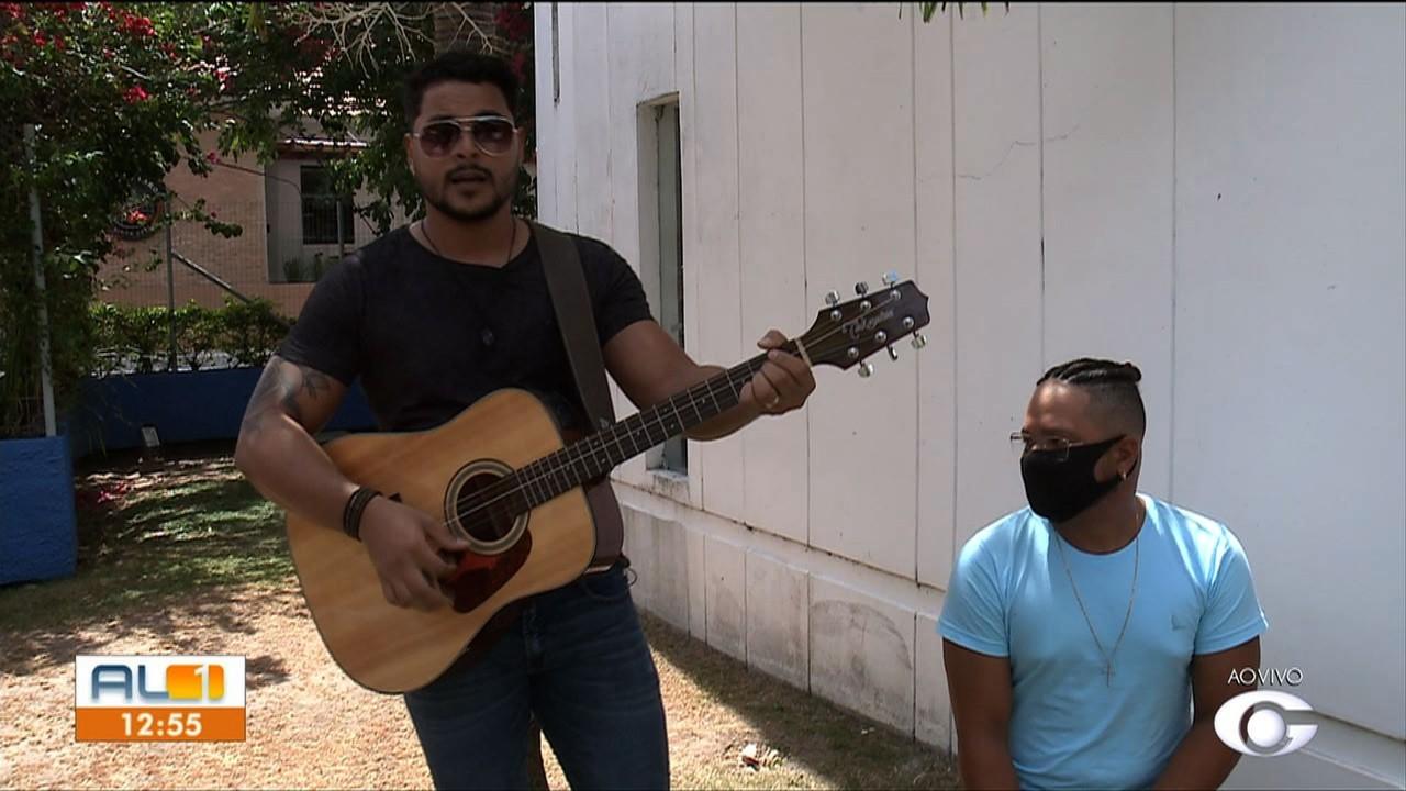 Conheça o trabalho do cantor alagoano Jonas Melo