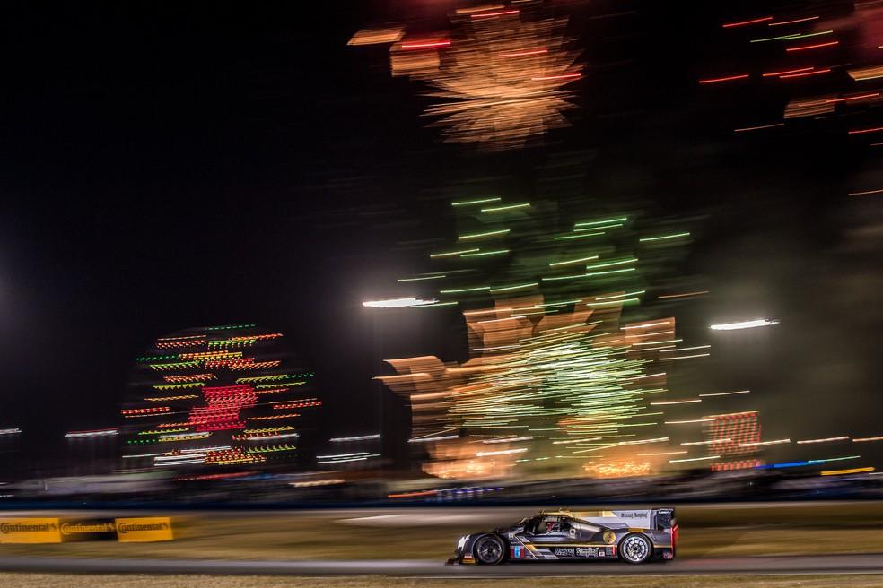Christian Fittipaldi nas 24 Horas de Daytona (Foto: José Mário Dias)