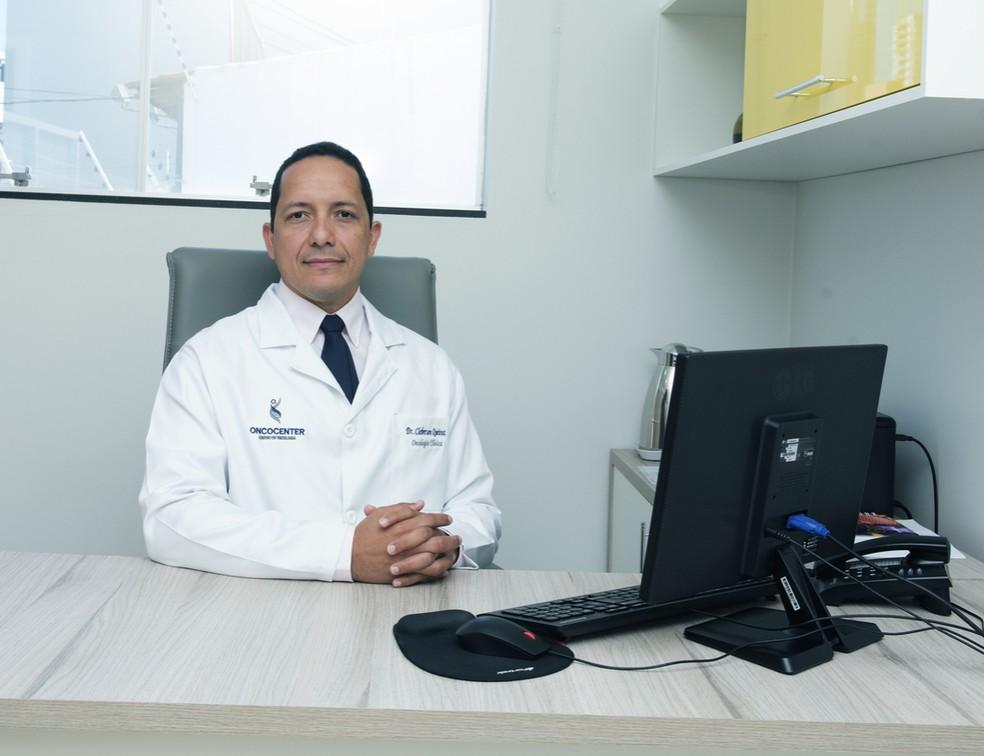 O oncologista Cleberson Queiroz explica como começar 2021 de forma mais saudável — Foto: Oncocenter