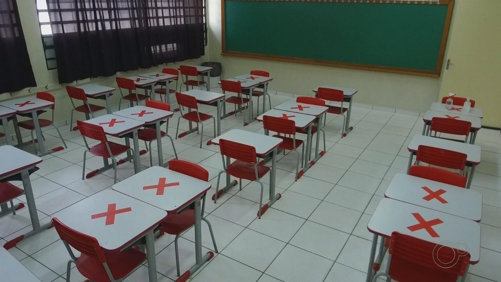 Escolas municipais de Araçatuba retomam aulas em sistema híbrido após recesso