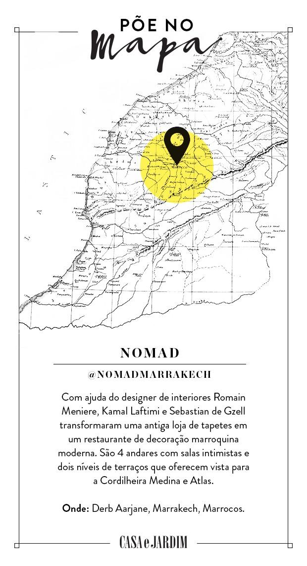 Nomad, em Marrakech (Foto: Victor Amirabile)