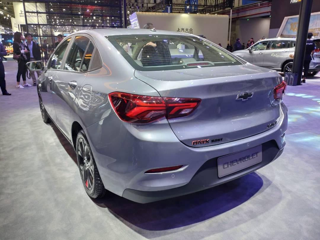 Nova geração do Chevrolet Prisma em Xangai