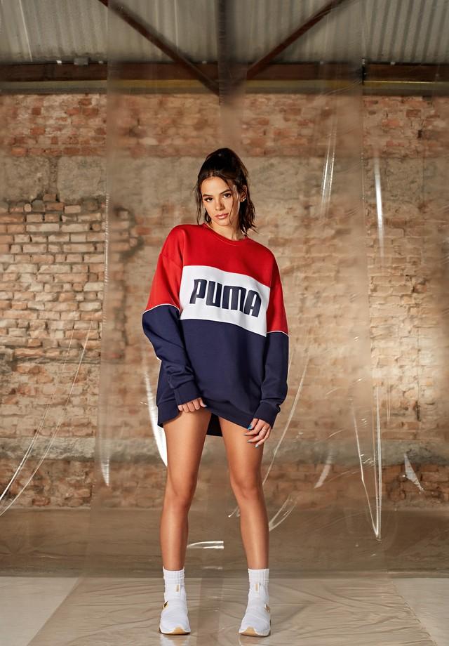 Bruna Marquezine para Puma (Foto: Divulgação )