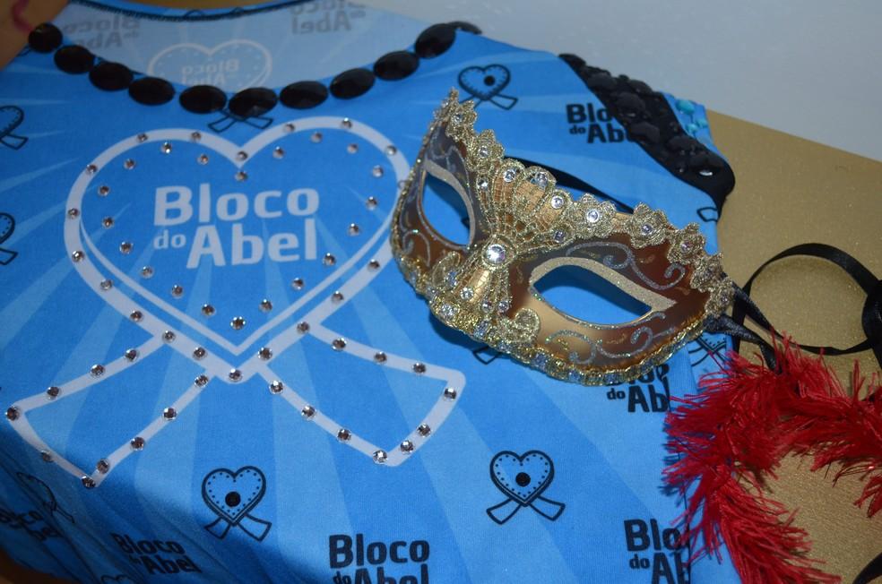 -  No Amapá, bloco do Abel trás a discussão sobre o autismo no carnaval  Foto: Rita Torrinha/G1