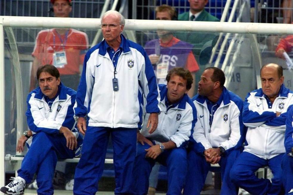 Além de 1970 e 1974, Zagallo comandou a Seleção na Copa de 1998 (Foto: Agência Reuters)