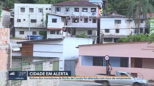 Moradores de Barão de Cocais temem possível rompimento de barragem