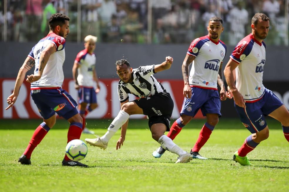 Bahia venceu o Atlético-MG no Independência por 1 a 0; Gilberto fez o gol do jogo — Foto: Bruno Cantini/ Atlético-MG