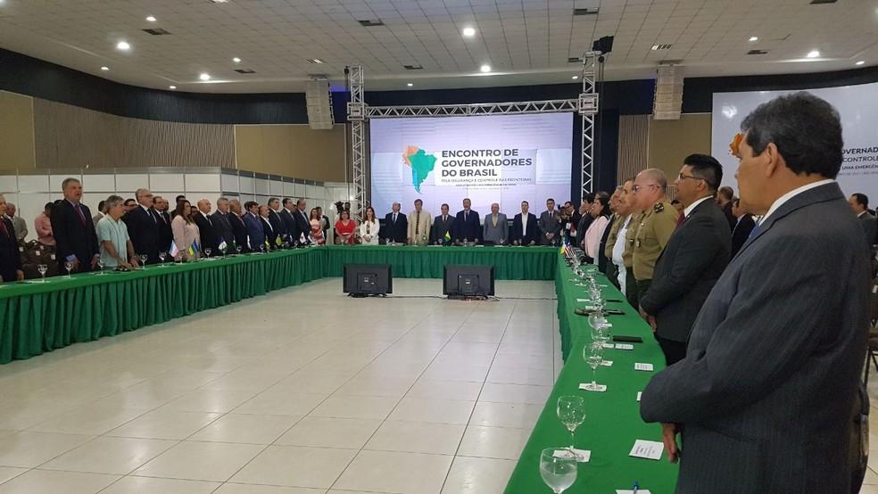 Representantes de 23 estados estão no evento (Foto: Aarão Prado/Secom)