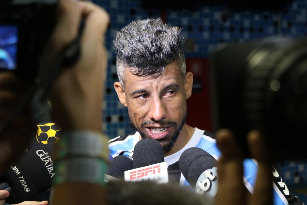 Léo Moura diz que pode jogar até 2020 — Foto: Eduardo Moura