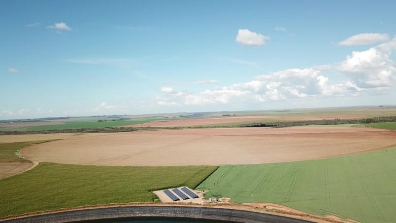 irrigação pivô (Foto: Divulgação)
