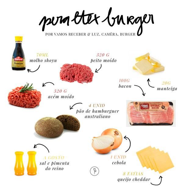 Dia Mundial do Hambúrguer: aprenda receita saborosa com crispy de bacon (Foto: Arte Stdio MR Jobim)