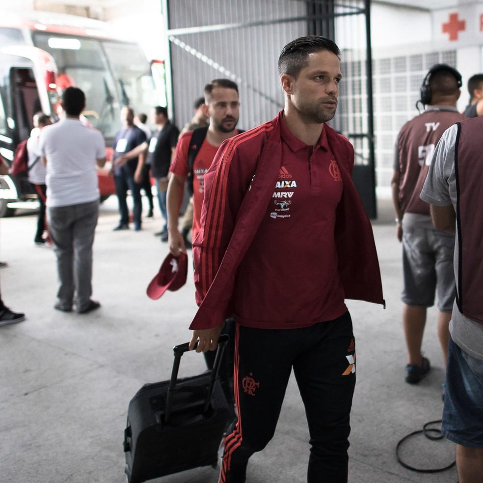 Protagonista do Flamengo nas últimas temporadas, Diego tem contrato até julho e situação indefinida  — Foto: Jorge R Jorge/BP Filmes