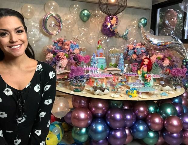 Thais Fersoza mostra festinha de Melinda (Foto: Reprodução Instagram)