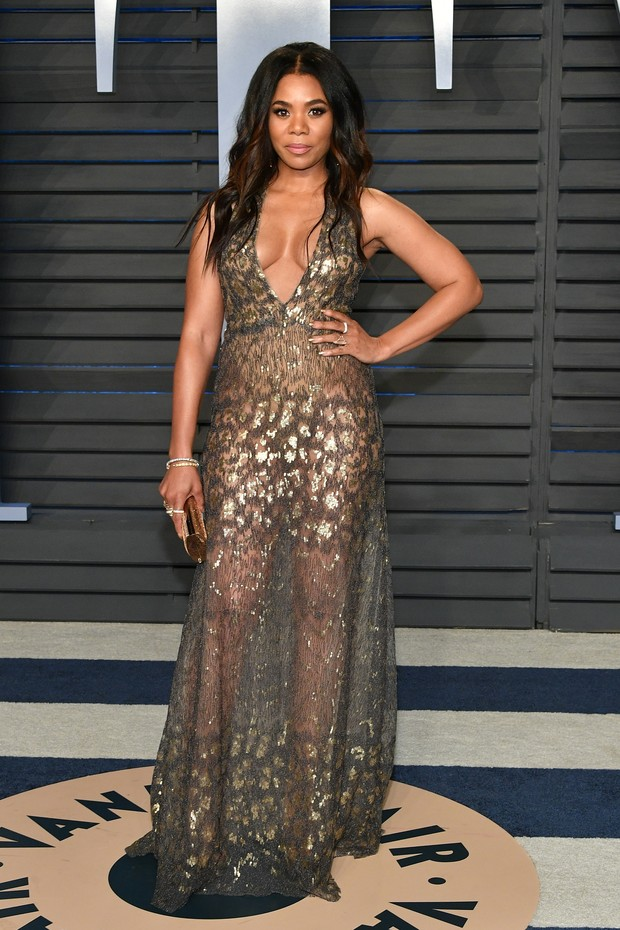 BEVERLY HILLS, CA - MARCH 04:  Regina Hall attends the 2018 Vanity Fair Oscar Party hosted by Radhika Jones at Wallis Annenberg Center for the Performing Arts on March 4, 2018 in Beverly Hills, California.  (Photo by Dia Dipasupil/Getty Images) (Foto: Getty Images)